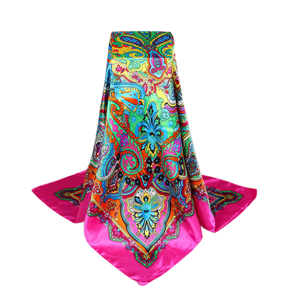 90cm 90cm high quality square silk scarf fashion