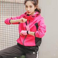 Sports Suits Women Men Sweat Boost Fat Burning Sauna Sets Autumn Winter Warm Lock Sport Suits Jacket Pants Ropa Deportiva Mujer