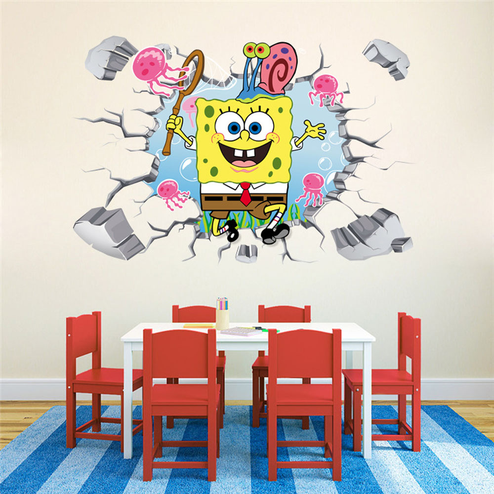 Compare Prices On Spongebob Room Online ShoppingBuy Low Price - Spongebob wall decals