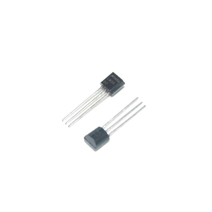10PCS LM35DZ TO-92 LM35 Precision Centigrade Temperature Sensors