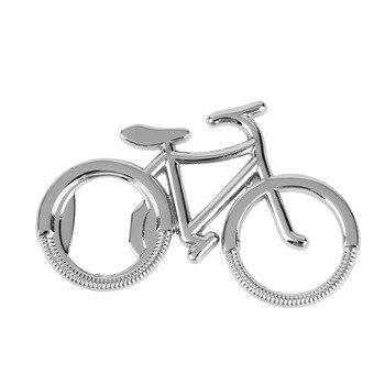 Llavero con abrebotellas de cerveza de Metal para bicicleta bonita y a la moda 1 Uds., anillos para amantes de las bicicletas, regalo creativo para ciclistas