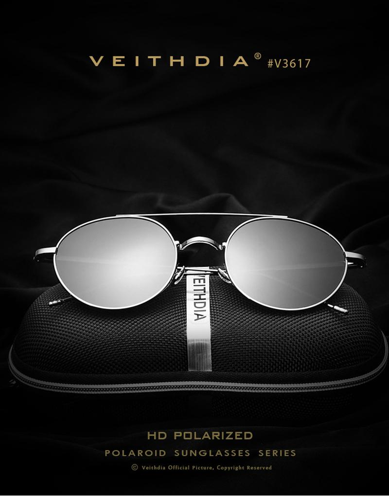 624b695dece VEITHDIA Sunglasses Women Men Polarized Eyewear Oculos Gafas UV400 ...