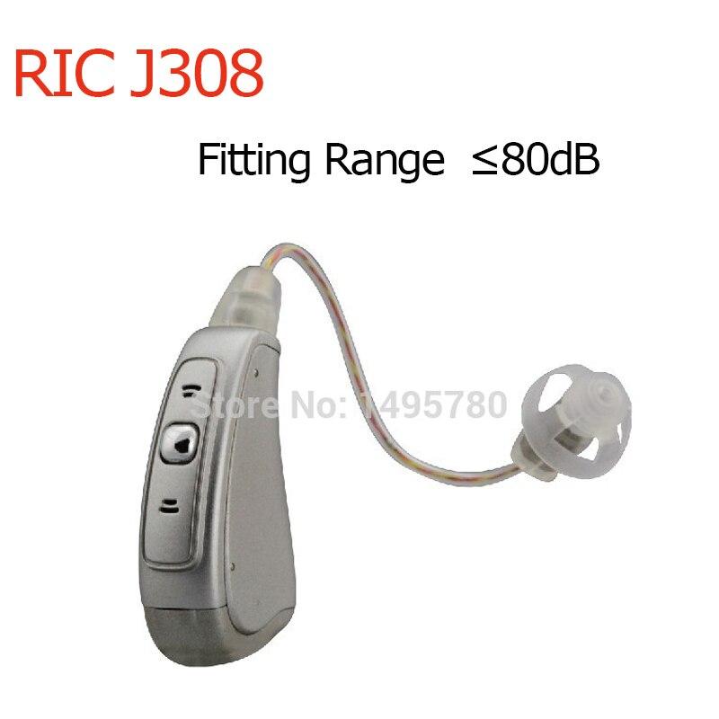 Best quality 4 Channels Programmable Digital Open fit ear Hearing Aid BTE RIC ear Resound mini
