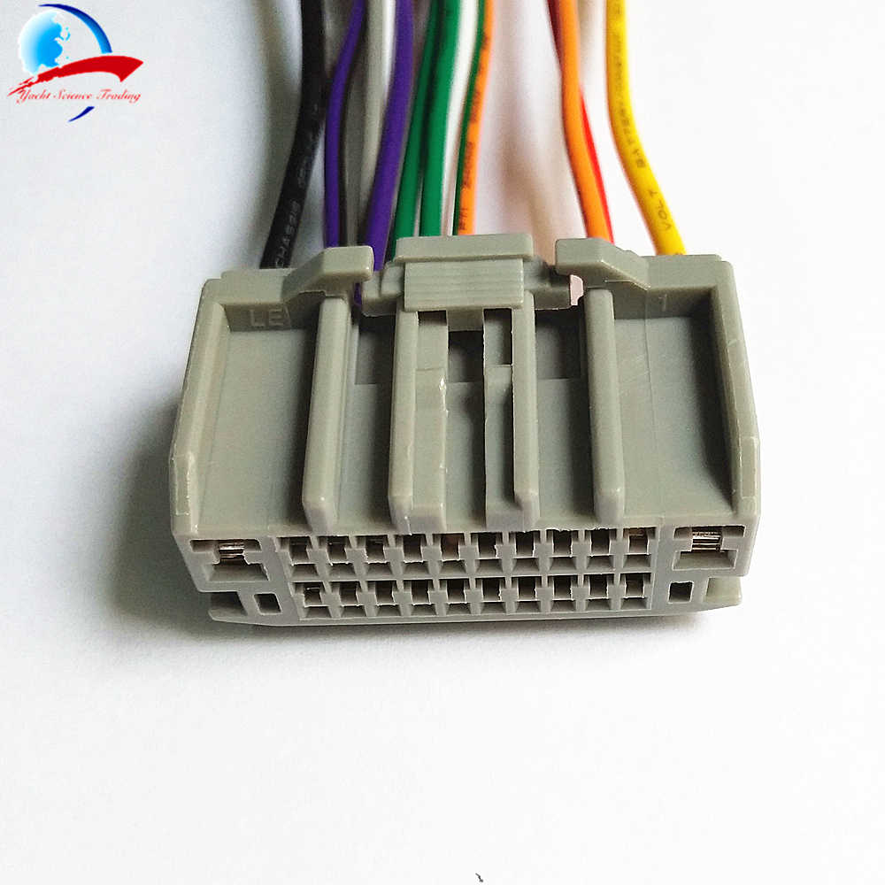 Car Styling Car Audio Stereo Wiring Harness Adapter Plug For Jeep  on stereo wiring harness color codes, chevy trailblazer stereo harness adapters, car audio harness adapters, stereo wiring harness kit, radio harness adapters, car stereo adapters,