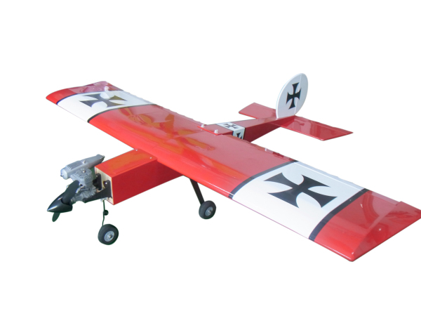 Flight Model Stick 46 Class Nitro RC Airplane Model Balsa Wood Fixed Wing Trainer все цены