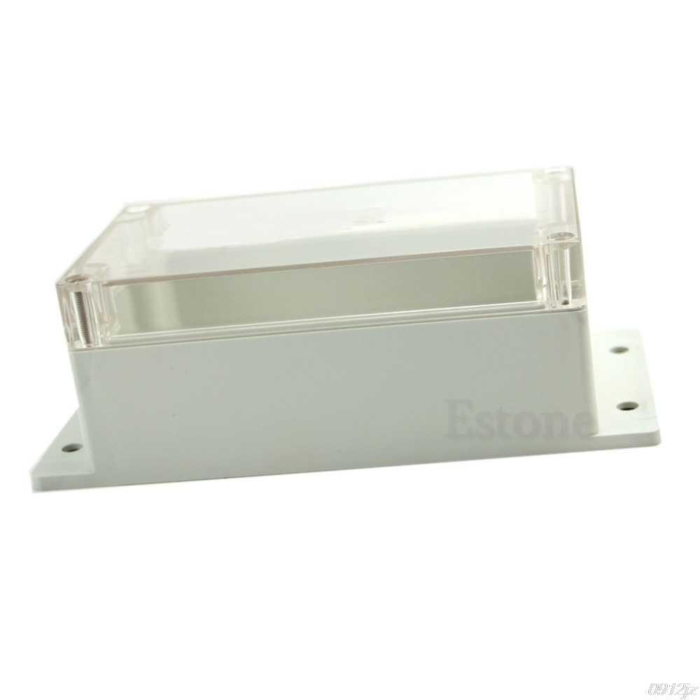 Carcasa de instrumentos electrónicos a prueba de agua de plástico para proyecto caja de 158x90x65MM