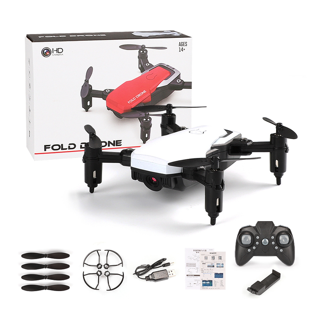 New RC Drone with Camera wifi FPV mini Quadcopter Foldable RC Drones with Camera HD