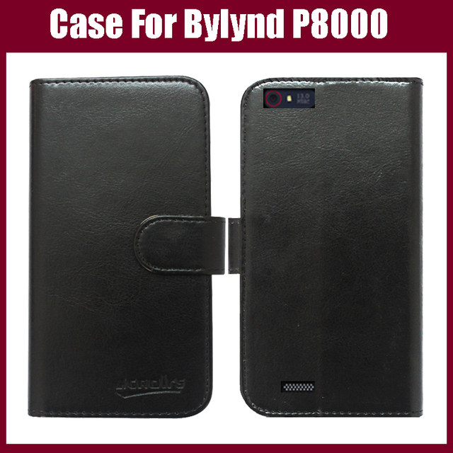 Bylynd P8000 Case New Flip Wallet Leather Protective Cover Case for Bylynd P8000 Phone Case With Card Holder 6 Colors in Stock