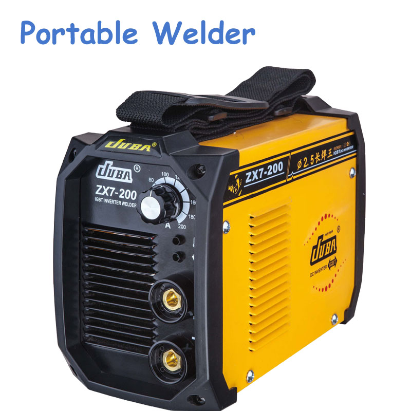 Mini All-Copper Welder Portable Welding Inverter Hot Selling Household ARC ZX7-200 Electric Welding Machine new high quality welding mma welder igbt zx7 200 dc inverter welding machine manual electric welding machine