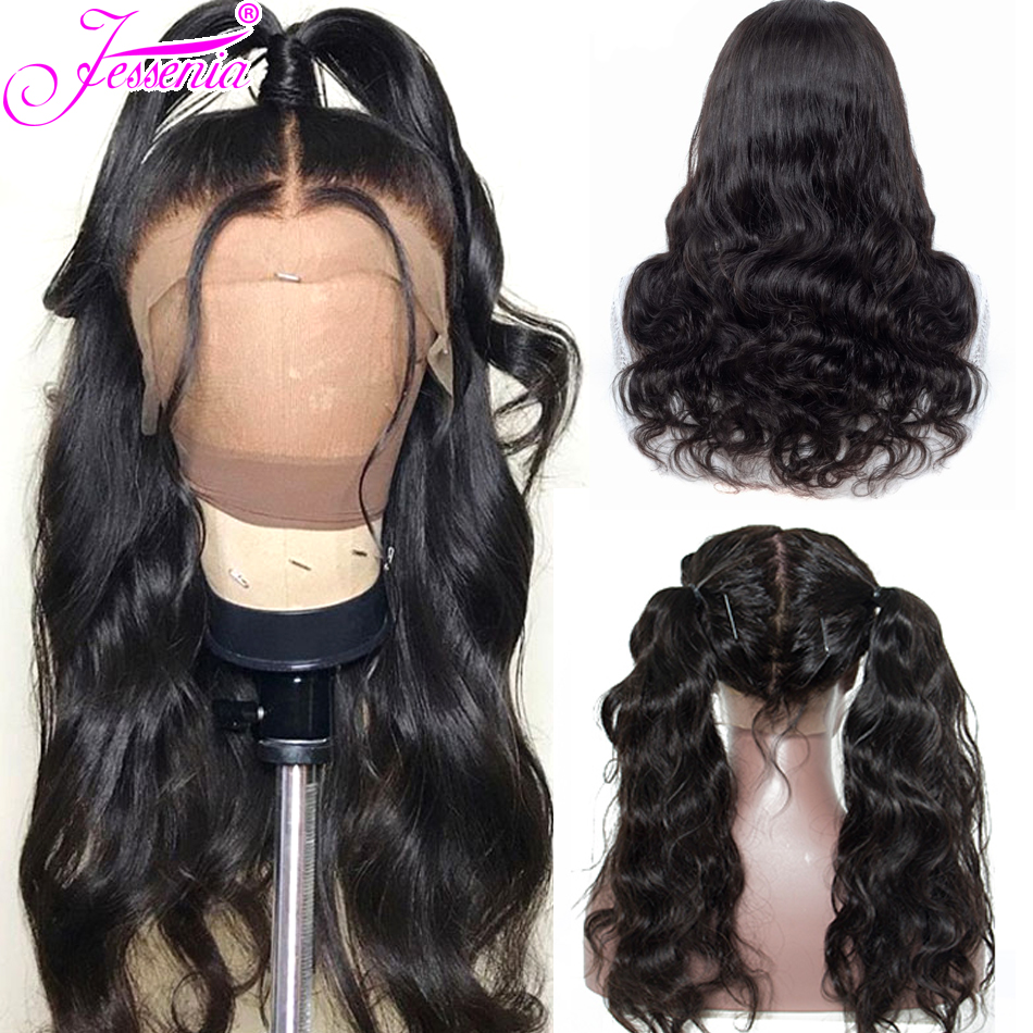Body Wave Wig 13*4 Lace Front Human Hair Wig For Women Pre Plucked Hairline With Baby Hair Peruvian Remy Hair Closure Wig