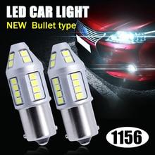 2pcs BA15S BAY15D 33SMD 2835 LED High Power 1156 1157 led 30w Lamp Auto p21w R5W car bulbs Reverse Lights Source parking 12v