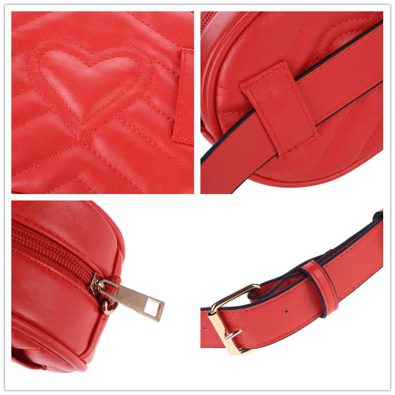 846744ff2d4 2019 New Bags for Women Pack Waist Bag Women Round Belt Bag Luxury Brand  Leather Chest Handbag Beige New Fashion High Quality