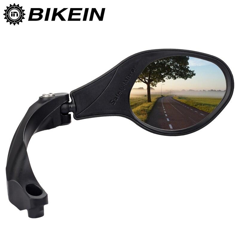 Cycling Bicycle Rear Mirror MTB Bike Rearview Mirror Bike Handlebar Back Blind Mirrors 360 Rotation Safety Bike Accessories ...