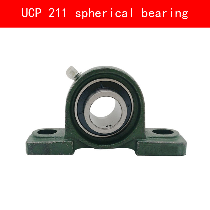 UCP 211 vertical spherical bearing for diameter 55MM shaftUCP 211 vertical spherical bearing for diameter 55MM shaft