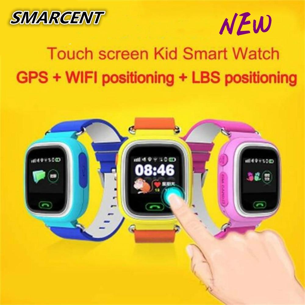 Original Kids GPS Tracker Q90 Touch Screen WIFI Baby Smart Watch Phone