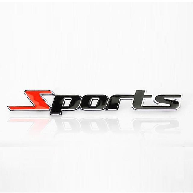 2015 New Revision Sports Sport Car Logo Metal Trailer Sidehead Auto