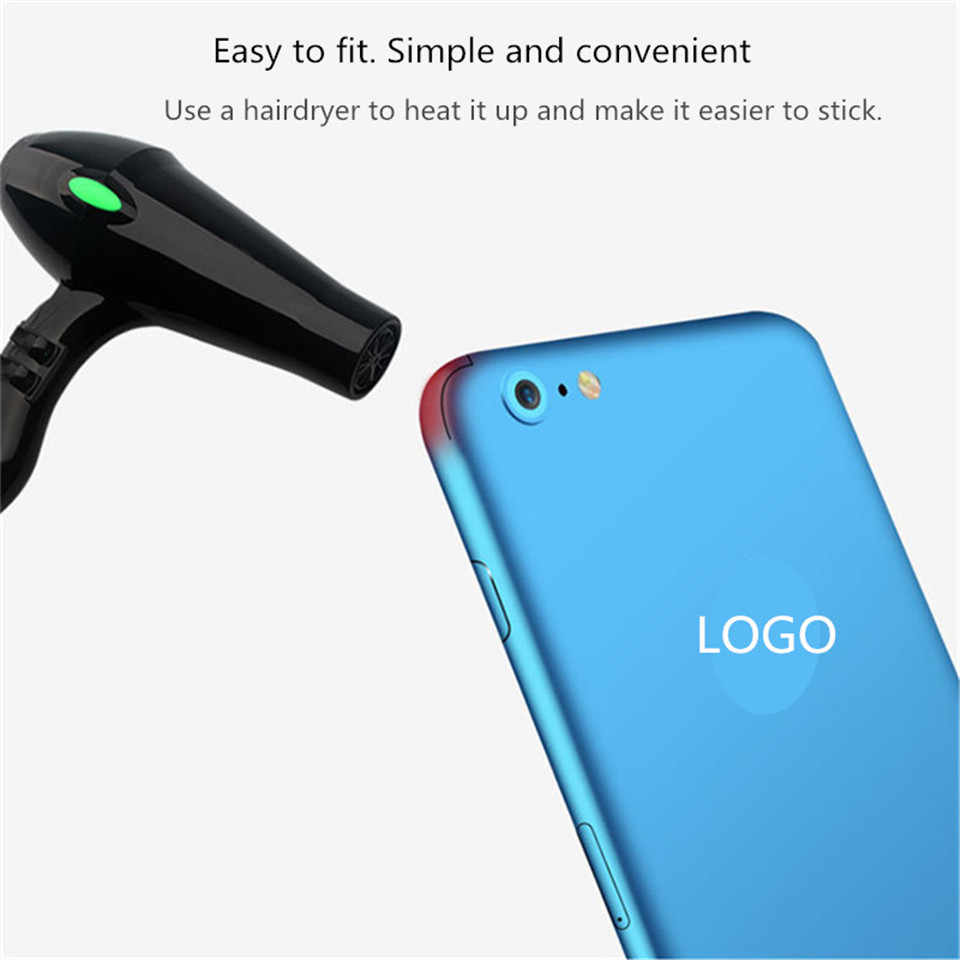 separation shoes 05956 4c29f Ultra Thin Sticker Case Back Cover Sticker Film For iPhone X Xs Xr Xs Max  Protector Skin For iPhone 7 8 6 6S Plus Decal Stickers