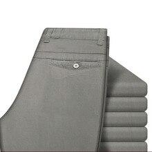 JUNGLE ZONE Men's men's casual pants straight trousers summer pants brand men's trousers 29-40 size Mens Trousers