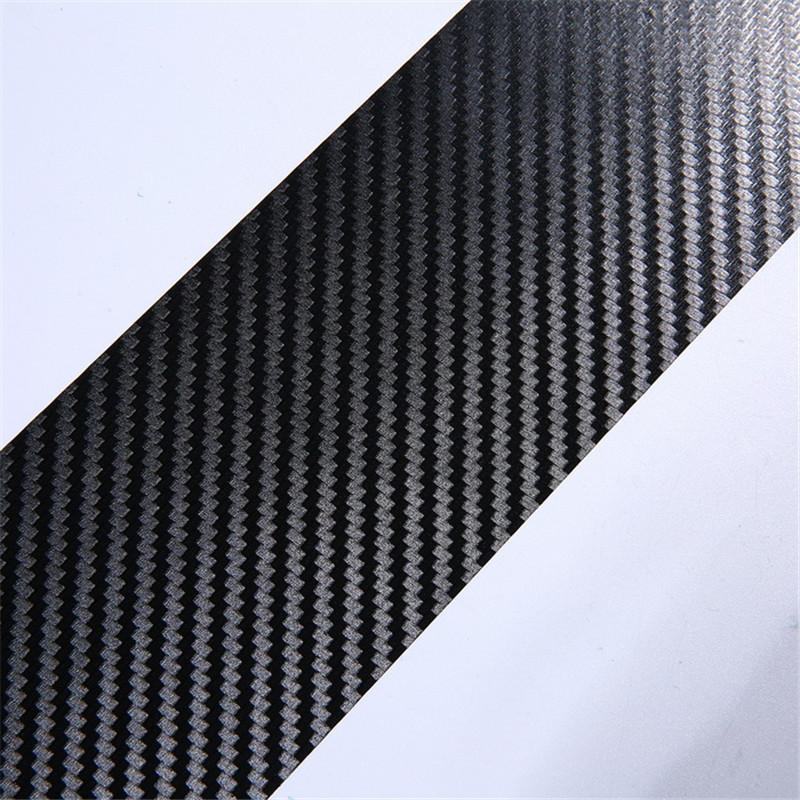 4PCS 60 x 6 7cm Car Stickers Universal Sill Scuff Anti Scratch Carbon Fiber Auto Door Sticker Decals Car Accessories in Car Stickers from Automobiles Motorcycles