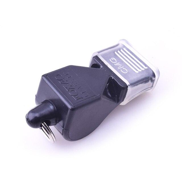 1Pcs Whistle Plastic Fox 40 Soccer Football Basketball Hockey Baseball Sports Referee Whistle Survival Outdoor Like 1