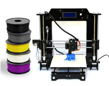 HICTOP Famous Brand 3d printer Aurora Impressora Partilhada Model DIY Reprap Prusa I3 with LCD Screen