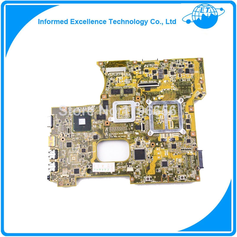 Free shipping 100%Working Laptop Motherboard for ASUS K42JV Series Mainboard System Board rhinestone tortoise bag charm