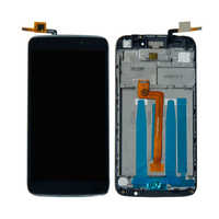 """For 5.5""""Alcatel One Touch Idol 3 OT6045 6045 6045K 6045Y Touch Screen Digitizer LCD Display Assembly With Frame Free Shipping"""
