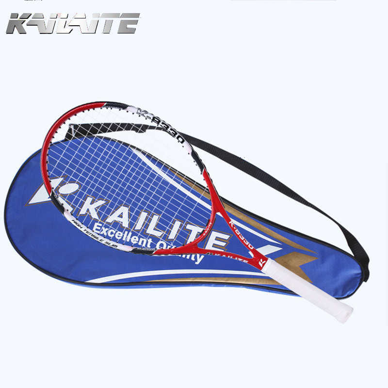 1 Pcs Tennis Racket Raquets Carbon Fiber High-quality Nylon For Women Training Entertainment With Bag Ball String Sweatband
