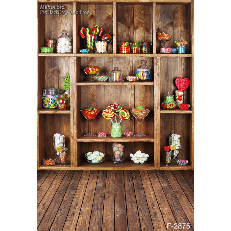 1.5x2.2M Cabinet maro Fundaluri pentru copii tipografice de vinil - Camera și fotografia