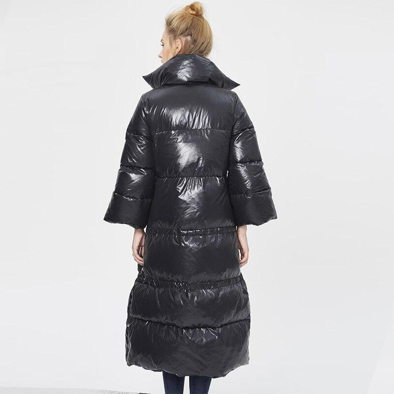 Collar Mujeres Capa De Plumas Negro Stand Damas Moda Italia Abrigos rwUxCrEfq