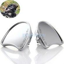 Пара Мотоциклов Chrome Silver Обтекатель Крепление Сторона Зеркала Заднего Вида Для Harley 2014 Позже #6829