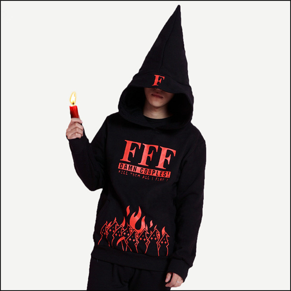 2017 New Clothing Made Anime FFF Baka to Test to Shoukanjuu Fashion Trend Black Cashmere Hoodie Autumn and Winter Style