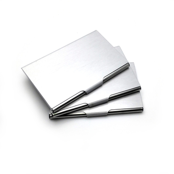 Business Card stock holders 50 pcs/ lot large capacity creative personal customized free with your business logo and information