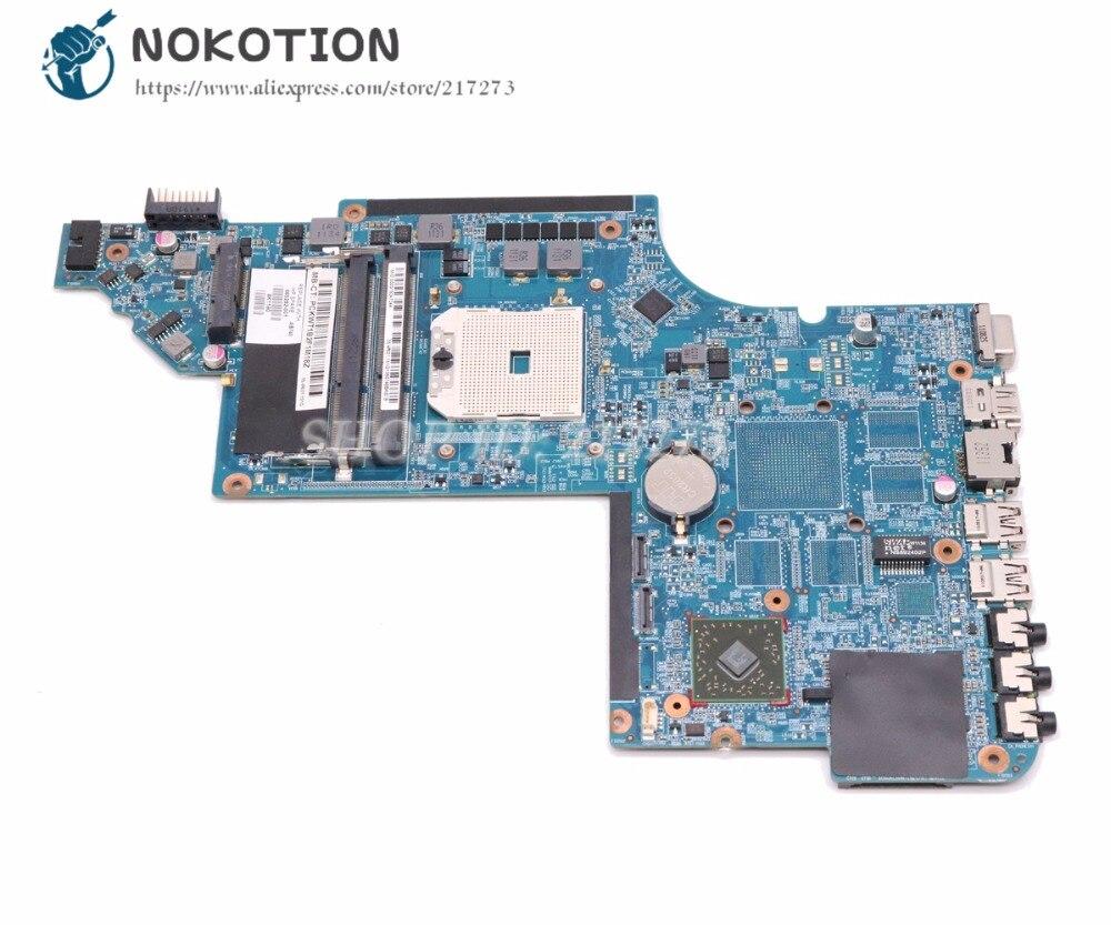 NOKOTION Laptop Motherboard For HP Pavilion DV6 DV6-6000 Socket FS1 MAIN BOARD DDR3 665282-001 669129-001 NOKOTION Laptop Motherboard For HP Pavilion DV6 DV6-6000 Socket FS1 MAIN BOARD DDR3 665282-001 669129-001