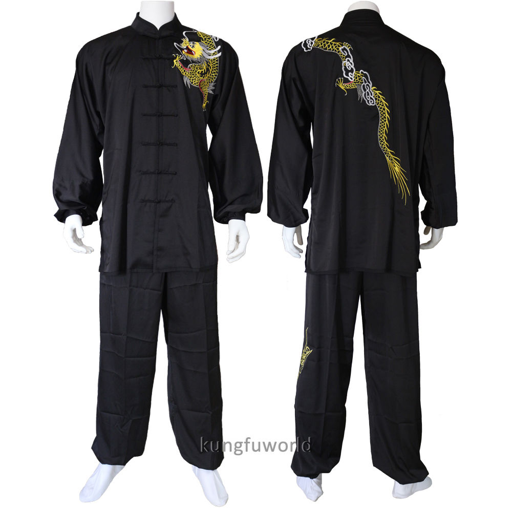 все цены на Men's Shaolin Tai chi Kung fu Uniforms Martial arts Wushu Wing Chun Suit Performance Competition Costumes онлайн