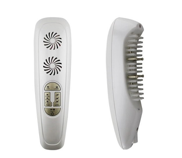 650nm Laser Hair Regrowth Comb Massager for Head Massage + Repair + Growth + avoid Hair Shedding high quality scalp massage comb 3 color mixed hair hair curls comb send elders the best gifts health care tools