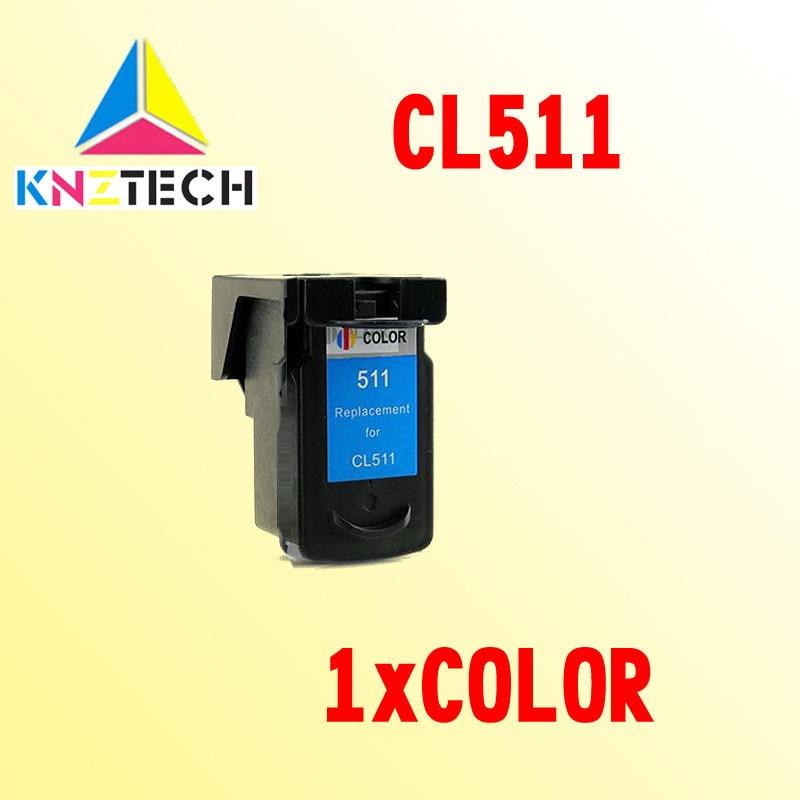 CL511 ink cartridge compatible for CANON CL 511 CL-511 CL511XL PIXMA MP230 240 250 260 270 280 282 480 490 495 MP499 цена