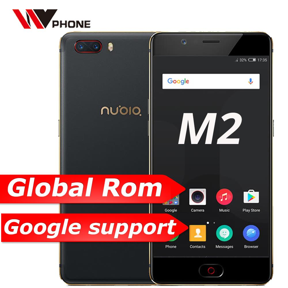 Original Nubia M2 4G LTE Mobile Phone MSM8953 Octa Core 5.5 inch Dual Rear 13.0MP 3630mAh Android M Fingerprint ID