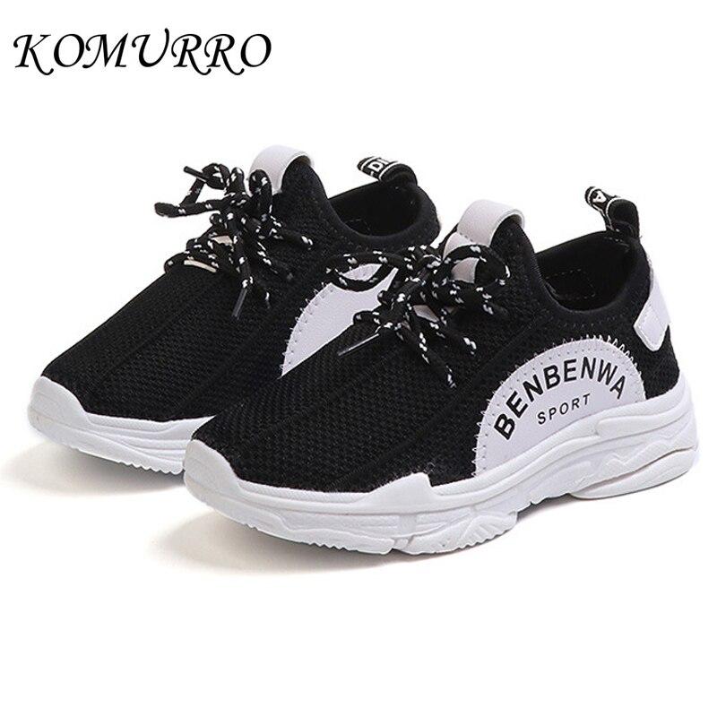 Children Shoes Kids Boys Sneakers Lace-Up Autumn Sport Shoes For Boys School Breathable Running Children Boys Shoes Sneakers