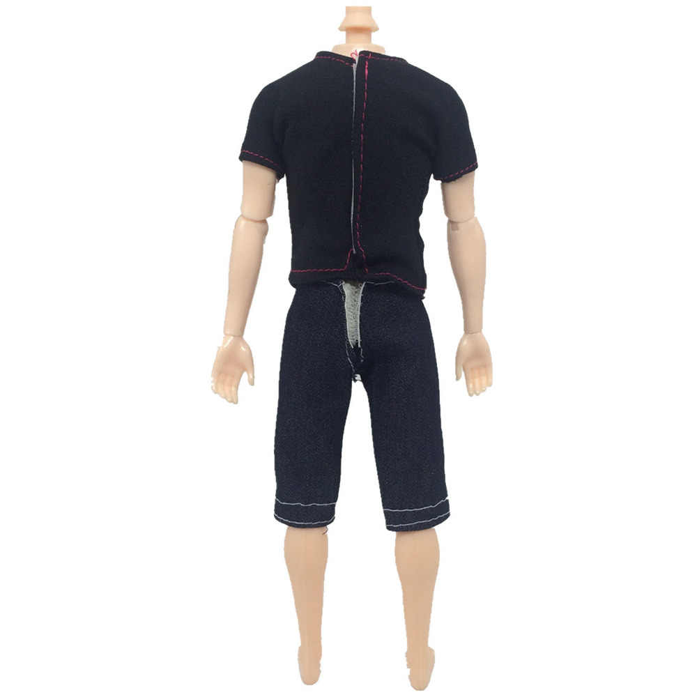 5 define Moda Fresco Casual Wear Jaqueta de Boneca Artesanal Calças Roupas Calças Roupas Menino Dos Homens para Ken Bonecas Acessórios Do Presente