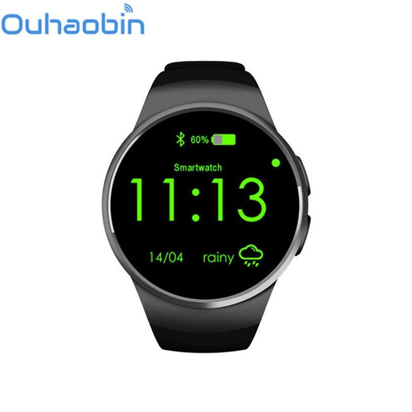 Ouhaobin Smart Wristband Watch Phone SIM TF Card Slot with Sleep Heart Rate Monitoring Nov 27 Dropship