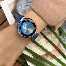 Роскошные Очаровательные женские часы с кристаллами, качественные замшевые часы с кожаным ремешком, женские наручные часы с бриллиантовым режущим циферблатом, Relogio Feminino