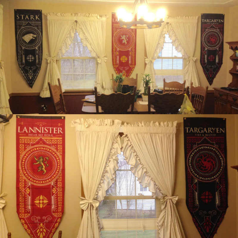 Detail Feedback Questions About Decor Flags Lannister Flag Living