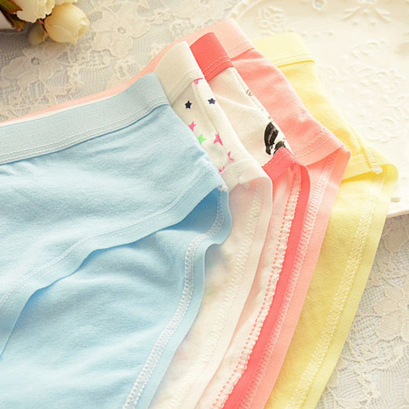 15 Color Plus Size M-XXXL Cotton Sexy Women Underwear Hot Soft Panties Pink Large Code Women's Panties Briefs PY3