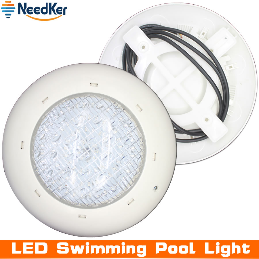 US $44.99 25% OFF|NeedKer Par56 24W 36W Swimming Pool Led Light RGB+Remote  Controller Underwater Lamp Pond Light IP68 Waterproof Piscina Light-in LED  ...