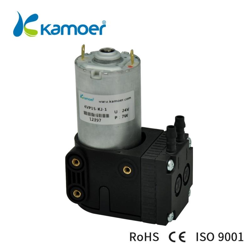 Kamoer 12V/24V KVP15 Mini Diaphragm Vacuum Pump With Brush/Brushless Motor and Single HeadKamoer 12V/24V KVP15 Mini Diaphragm Vacuum Pump With Brush/Brushless Motor and Single Head