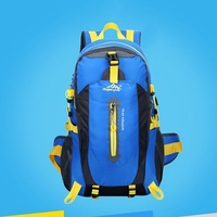 2017 40L Waterproof Travel Hiking Backpack Women Men Camping Climbing Rucksack Mountaineering Hiking Cycling Sports Bag
