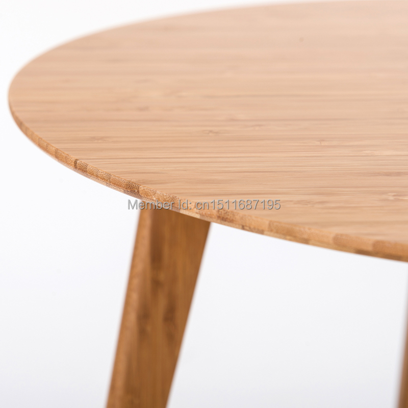 Yongyu Bamboo Simple Small Round Coffee Table IKEA Coffee Table European  Side A Few Small Dining Table Modern Telephone Table In Coat Racks From  Furniture ...