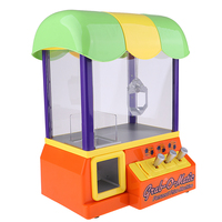 MagiDeal Candy Grabber Machine Toy Claw Game Kids Fun Crane Dolls Grab Arcade Machine Birthday Gift