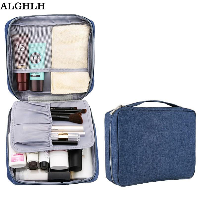Il regalo cosmetico impermeabile della borsa per le estetiche delle donne Necessaries compone la borsa di toilette di bellezza dell'organizzatore di viaggio della borsa Trasporto libero
